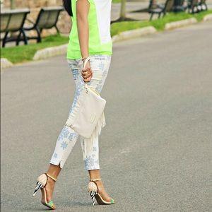 H&M Paisley Print Jeans